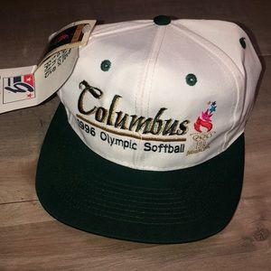 NWT vtg Columbus 1996 Olympic Softball hat OSFA